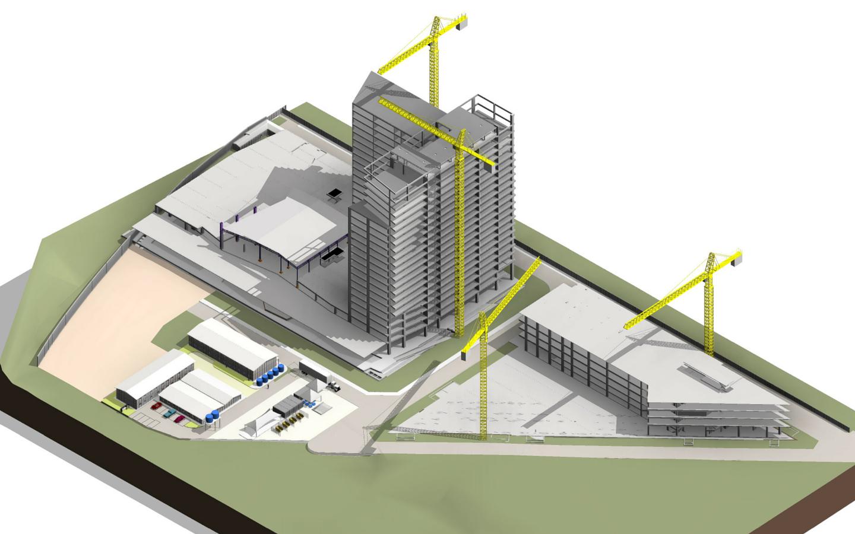 Projeto Comercial BIM-Parque Olimpico-IBC Office
